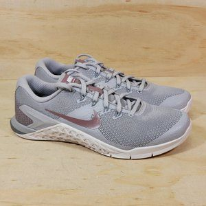 Nike Metcon 4 LM Grey Mauve Shoes NEW